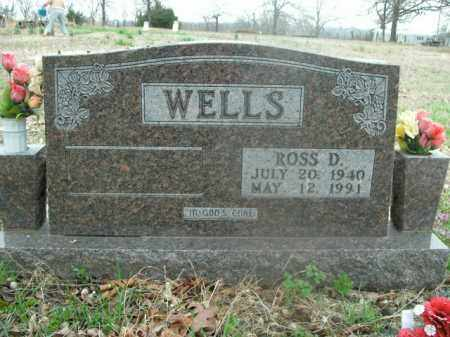 WELLS, ROSS DENVER - Boone County, Arkansas | ROSS DENVER WELLS - Arkansas Gravestone Photos