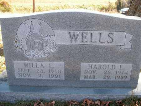 WELLS, WILLA LEA - Boone County, Arkansas | WILLA LEA WELLS - Arkansas Gravestone Photos