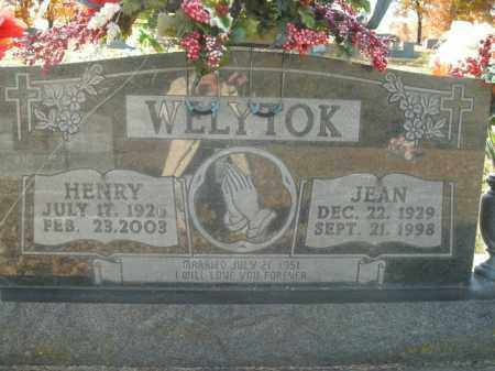 WELYTOK, JEAN - Boone County, Arkansas | JEAN WELYTOK - Arkansas Gravestone Photos