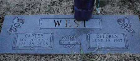 WEST, CARTER - Boone County, Arkansas | CARTER WEST - Arkansas Gravestone Photos