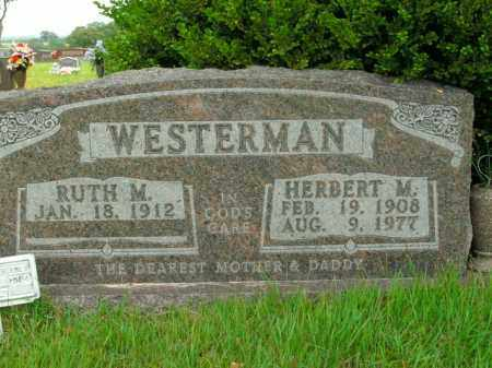 WESTERMAN, RUTH M. - Boone County, Arkansas | RUTH M. WESTERMAN - Arkansas Gravestone Photos