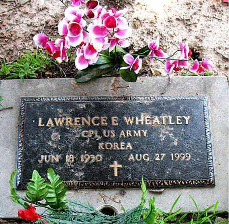 WHEATLEY  (VETERAN KOR), LAWRENCE E - Boone County, Arkansas | LAWRENCE E WHEATLEY  (VETERAN KOR) - Arkansas Gravestone Photos