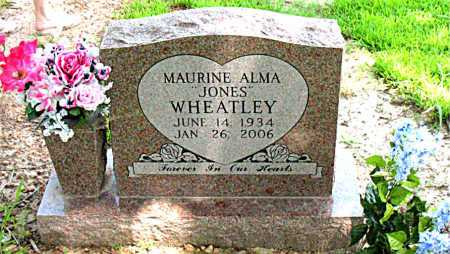 WHEATLEY, MAURINE ALMA - Boone County, Arkansas | MAURINE ALMA WHEATLEY - Arkansas Gravestone Photos