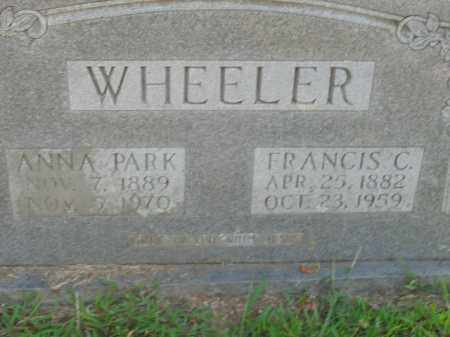 WHEELER, FRANCIS C. - Boone County, Arkansas | FRANCIS C. WHEELER - Arkansas Gravestone Photos