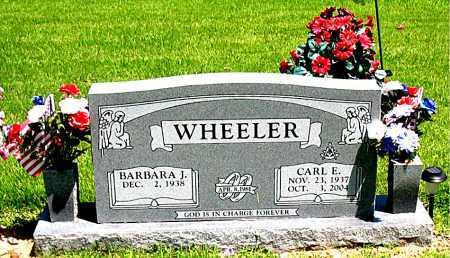 WHEELER, CARL E - Boone County, Arkansas | CARL E WHEELER - Arkansas Gravestone Photos
