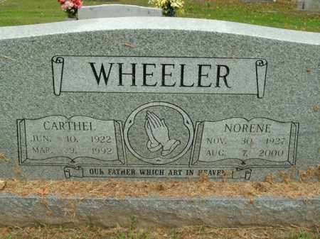 WHEELER, MARGIE NORENE - Boone County, Arkansas | MARGIE NORENE WHEELER - Arkansas Gravestone Photos