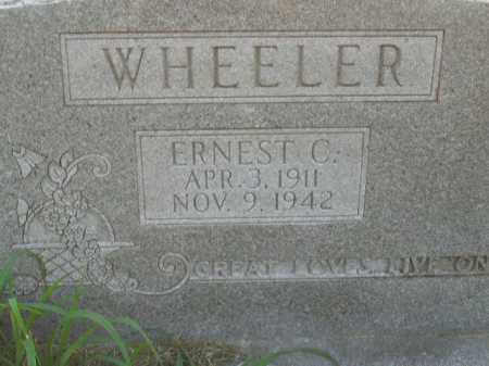 WHEELER, ERNEST  C. - Boone County, Arkansas | ERNEST  C. WHEELER - Arkansas Gravestone Photos