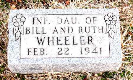 WHEELER, INFANT DAUGHTER - Boone County, Arkansas | INFANT DAUGHTER WHEELER - Arkansas Gravestone Photos
