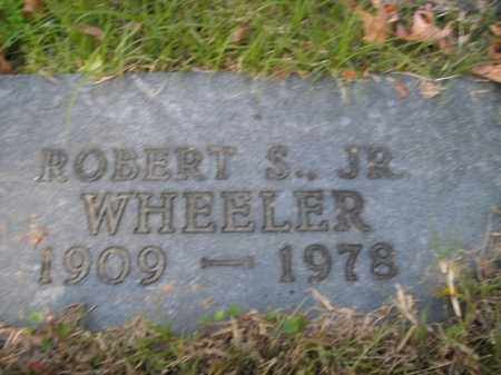WHEELER, JR, ROBERT S. - Boone County, Arkansas | ROBERT S. WHEELER, JR - Arkansas Gravestone Photos