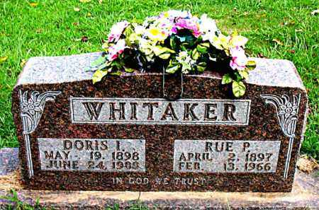 WHITAKER, RUE PHARRIS - Boone County, Arkansas | RUE PHARRIS WHITAKER - Arkansas Gravestone Photos