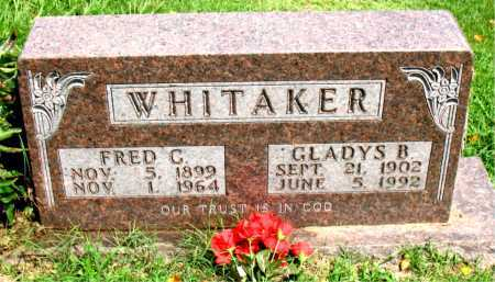 WHITAKER, GLADYS BONNIE - Boone County, Arkansas | GLADYS BONNIE WHITAKER - Arkansas Gravestone Photos