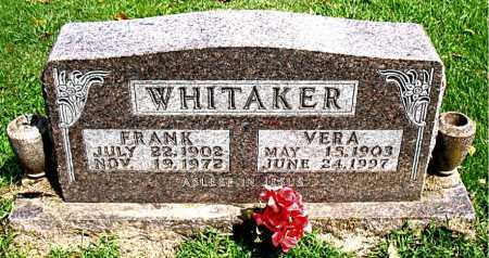 WHITAKER, FRANK - Boone County, Arkansas | FRANK WHITAKER - Arkansas Gravestone Photos