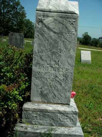 WHITAKER, JAMES MADISON - Boone County, Arkansas | JAMES MADISON WHITAKER - Arkansas Gravestone Photos