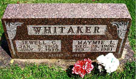 WHITAKER, MAYMIE LOIS - Boone County, Arkansas | MAYMIE LOIS WHITAKER - Arkansas Gravestone Photos