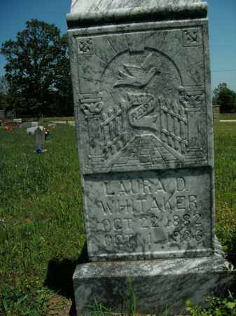 WHITAKER, LAURA DELINA - Boone County, Arkansas | LAURA DELINA WHITAKER - Arkansas Gravestone Photos