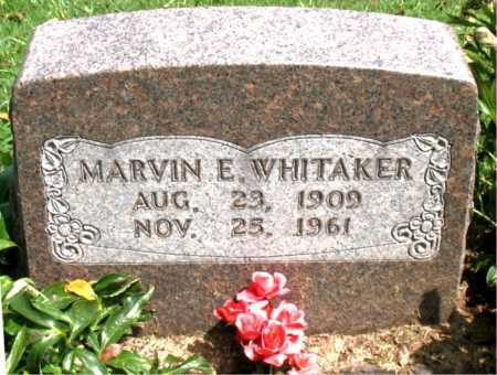 WHITAKER, MARVIN E - Boone County, Arkansas | MARVIN E WHITAKER - Arkansas Gravestone Photos