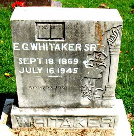 WHITAKER, SR, EDWARD GUINN - Boone County, Arkansas | EDWARD GUINN WHITAKER, SR - Arkansas Gravestone Photos