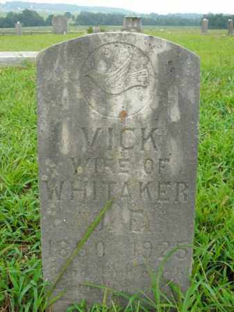 WHITAKER, VICTORIA CATHERINE - Boone County, Arkansas | VICTORIA CATHERINE WHITAKER - Arkansas Gravestone Photos