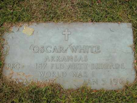 WHITE  (VETERAN WWI), OSCAR - Boone County, Arkansas | OSCAR WHITE  (VETERAN WWI) - Arkansas Gravestone Photos