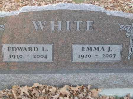 WHITE, EDWARD E. - Boone County, Arkansas | EDWARD E. WHITE - Arkansas Gravestone Photos