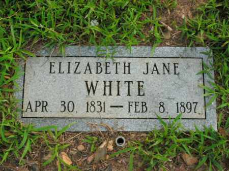 WHITE, ELIZABETH JANE - Boone County, Arkansas | ELIZABETH JANE WHITE - Arkansas Gravestone Photos
