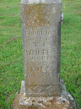 WHITE, EUDORIAL - Boone County, Arkansas | EUDORIAL WHITE - Arkansas Gravestone Photos
