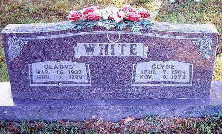 WHITE, CLYDE - Boone County, Arkansas | CLYDE WHITE - Arkansas Gravestone Photos