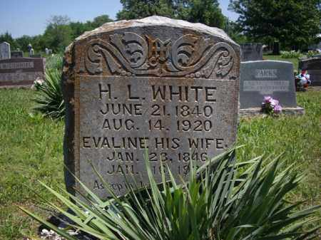 WHITE, HUGH L. - Boone County, Arkansas | HUGH L. WHITE - Arkansas Gravestone Photos