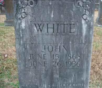 WHITE, JOHN - Boone County, Arkansas | JOHN WHITE - Arkansas Gravestone Photos
