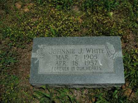 WHITE, JOHNNIE J. - Boone County, Arkansas | JOHNNIE J. WHITE - Arkansas Gravestone Photos