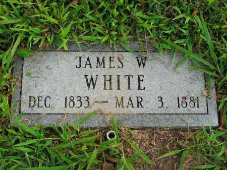 WHITE, JAMES W. - Boone County, Arkansas | JAMES W. WHITE - Arkansas Gravestone Photos