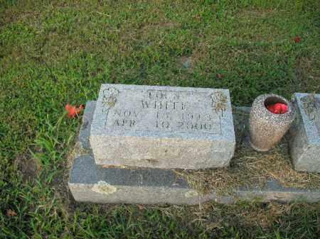 WHITE, LOLA - Boone County, Arkansas   LOLA WHITE - Arkansas Gravestone Photos