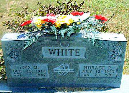WHITE, HORACE R. - Boone County, Arkansas | HORACE R. WHITE - Arkansas Gravestone Photos