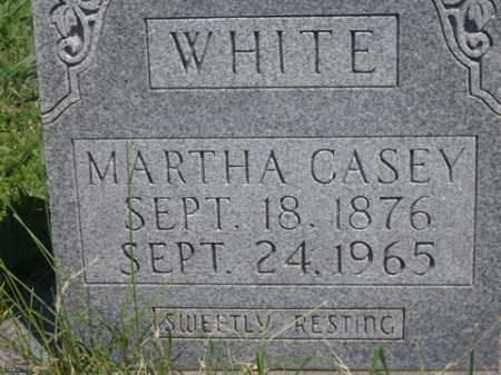 WHITE, MARTHA CASEY - Boone County, Arkansas | MARTHA CASEY WHITE - Arkansas Gravestone Photos