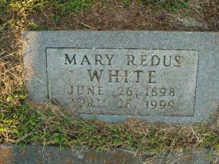 REDUS WHITE, MARY - Boone County, Arkansas | MARY REDUS WHITE - Arkansas Gravestone Photos