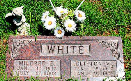 WHITE, MILDRED E - Boone County, Arkansas | MILDRED E WHITE - Arkansas Gravestone Photos