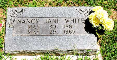 WHITE, NANCY JANE - Boone County, Arkansas | NANCY JANE WHITE - Arkansas Gravestone Photos