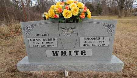 BOLIN WHITE, NONA ELLEN - Boone County, Arkansas | NONA ELLEN BOLIN WHITE - Arkansas Gravestone Photos