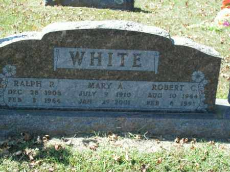 WHITE, ROBERT C. - Boone County, Arkansas | ROBERT C. WHITE - Arkansas Gravestone Photos