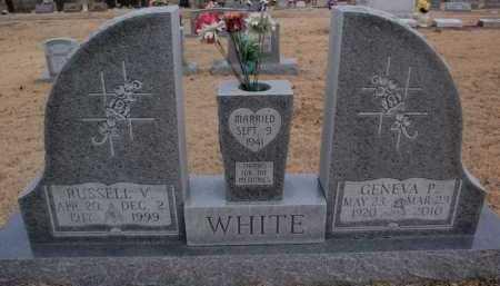 WHITE, RUSSELL V. - Boone County, Arkansas | RUSSELL V. WHITE - Arkansas Gravestone Photos