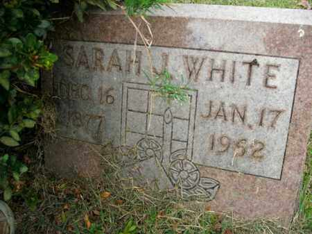 WHITE, SARAH J. - Boone County, Arkansas | SARAH J. WHITE - Arkansas Gravestone Photos
