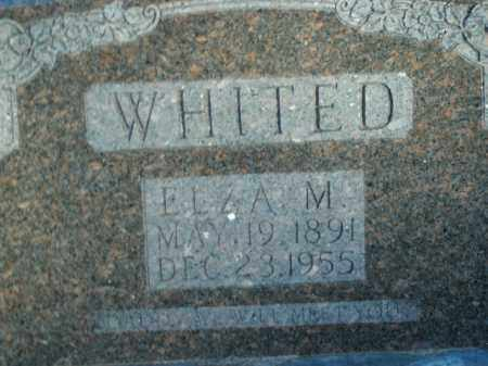 WHITED, ELZA MARVIN - Boone County, Arkansas | ELZA MARVIN WHITED - Arkansas Gravestone Photos