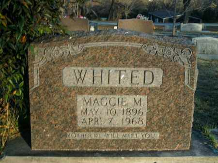 WHITED, MAGGIE MAGDALENE - Boone County, Arkansas | MAGGIE MAGDALENE WHITED - Arkansas Gravestone Photos