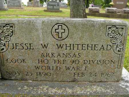 WHITEHEAD  (VETERAN WWI), JESSE W - Boone County, Arkansas | JESSE W WHITEHEAD  (VETERAN WWI) - Arkansas Gravestone Photos