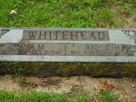 WHITEHEAD, ANNA M. - Boone County, Arkansas | ANNA M. WHITEHEAD - Arkansas Gravestone Photos