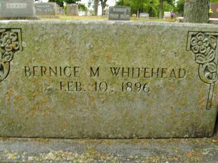 WHITEHEAD, BERNICE M. - Boone County, Arkansas | BERNICE M. WHITEHEAD - Arkansas Gravestone Photos