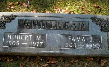 WHITEHEAD, FAMA JEAN - Boone County, Arkansas | FAMA JEAN WHITEHEAD - Arkansas Gravestone Photos