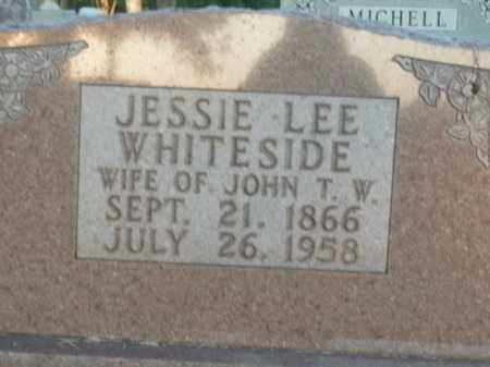 WHITESIDE, JESSIE LEE - Boone County, Arkansas | JESSIE LEE WHITESIDE - Arkansas Gravestone Photos