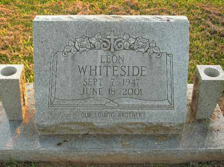 WHITESIDE, LEON - Boone County, Arkansas | LEON WHITESIDE - Arkansas Gravestone Photos