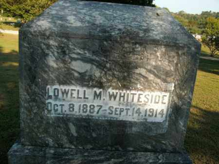 WHITESIDE, LOWELL M. - Boone County, Arkansas | LOWELL M. WHITESIDE - Arkansas Gravestone Photos